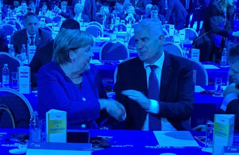 Čović: A meaningful meeting with Merkel on latest developments in BiH
