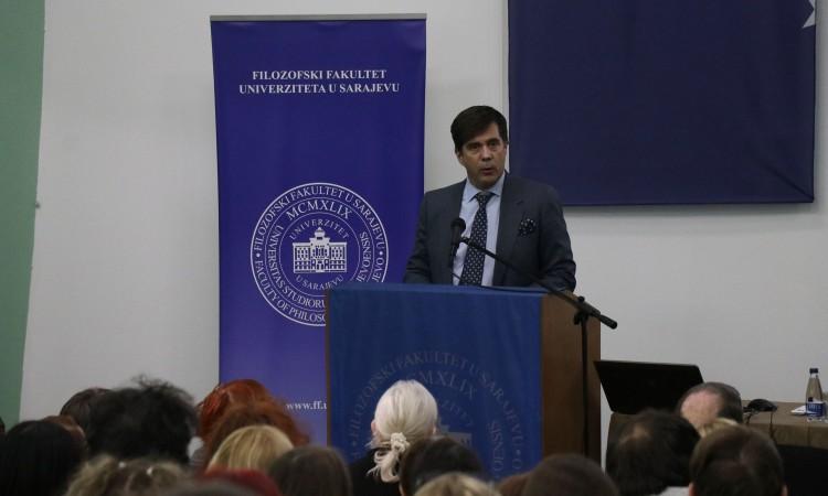 Ambassador Nelson presents study programs in USA