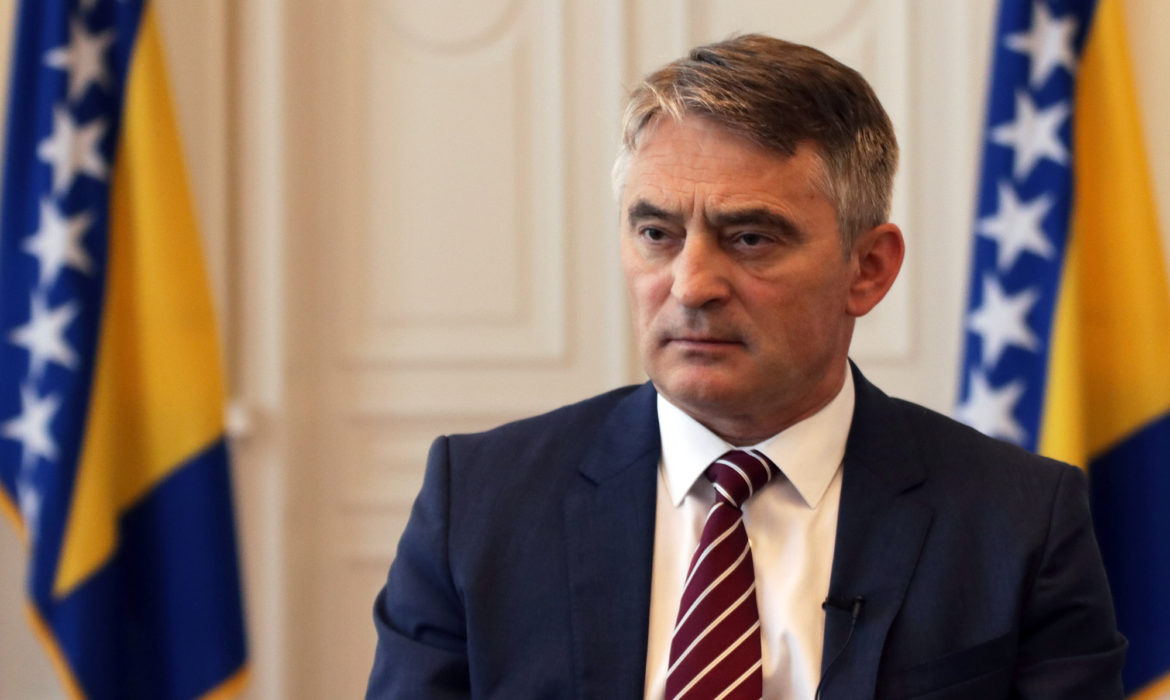 Presidency Chairman Komšić visiting United States on a working visit