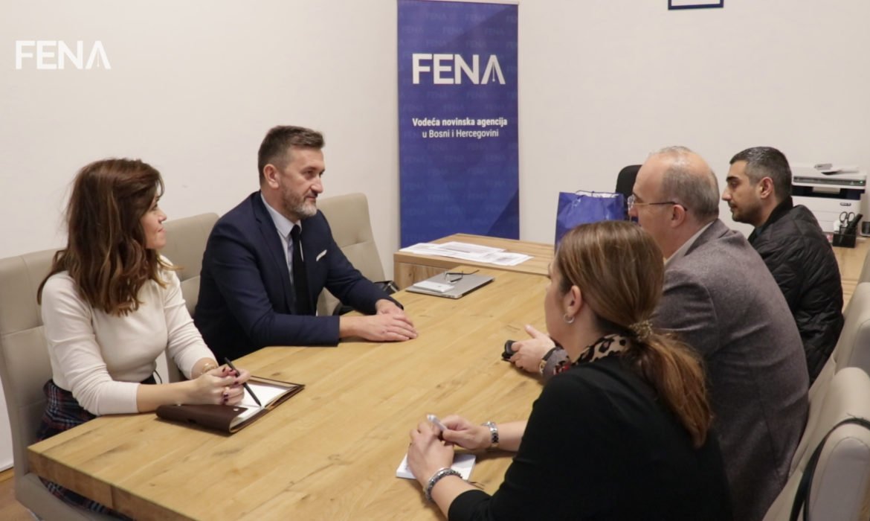 Turkish Radio and Television (TRT) delegation visits FENA