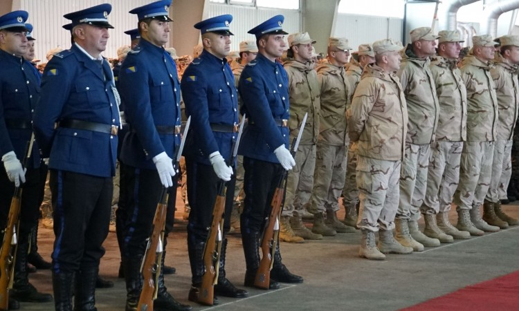 General Bissell congratulates on the 14th anniversary of establishment of BiH Armed Forces