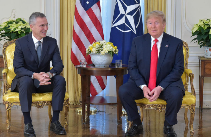 NATO Secretary General meets President Trump ahead of Leaders' Meeting