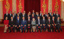 Leaders celebrate NATO's 70th anniversary at Buckingham Palace reception