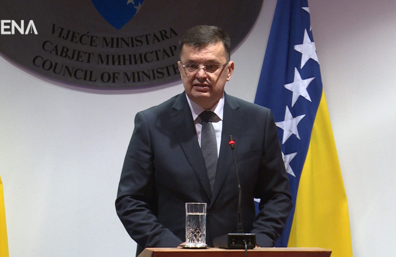 Tegeltija begins consultations for appointment of BiH Council of Ministers