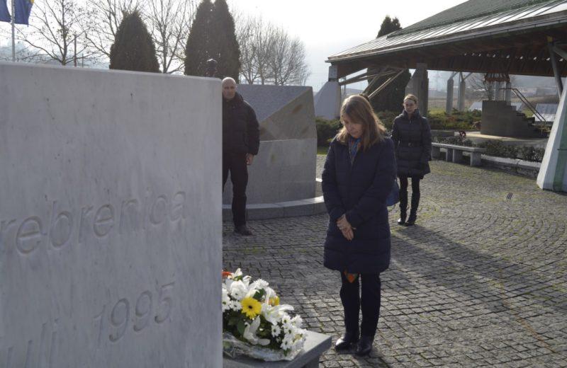 Kavalec: Srebrenica Memorial Center is reminder to everyone of horrific tragedy