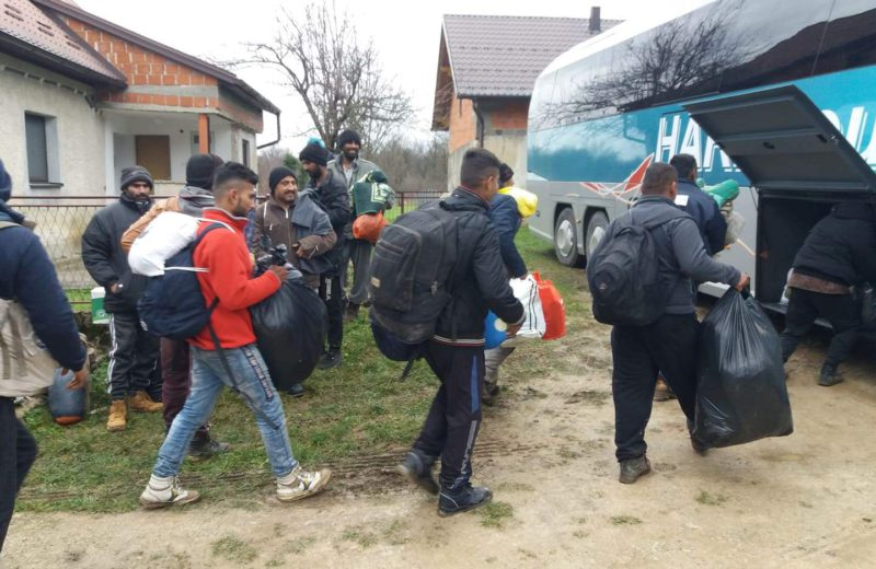 More than 600 migrants arrive in Ušivak and Blažuj