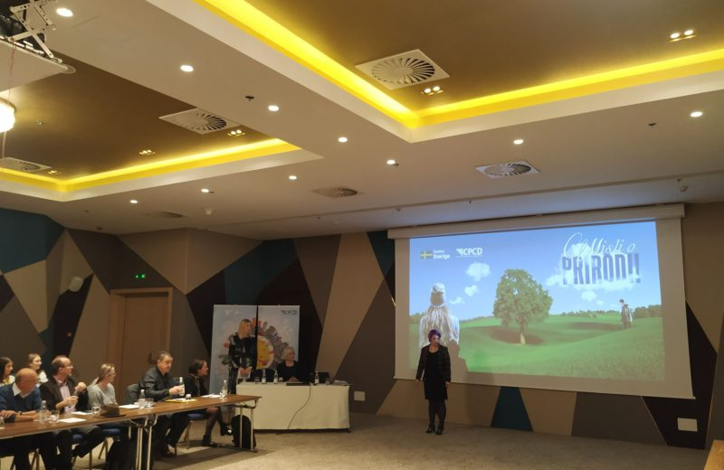Sweden-supported environmental project 'Think about Nature!' presented today
