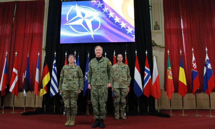 US Army General William Edwards assumes command of NATO Headquarters Sarajevo