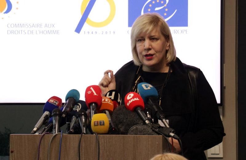 Mijatović welcomes closure of Vučjak