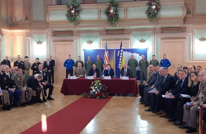 BiH-US agreement on procurement of new helicopters for AFBiH signed in Sarajevo