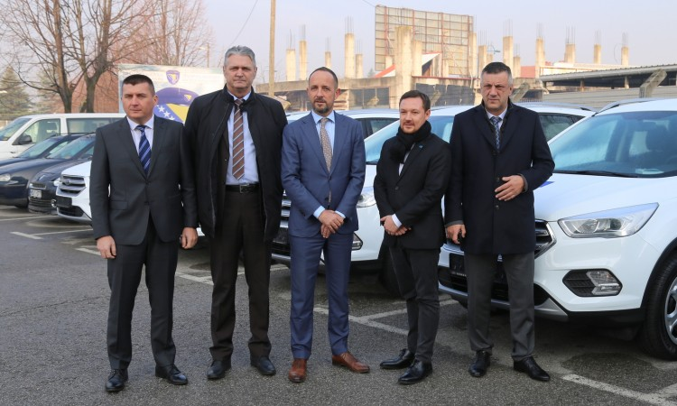 EU donates five vehicles to Border Police