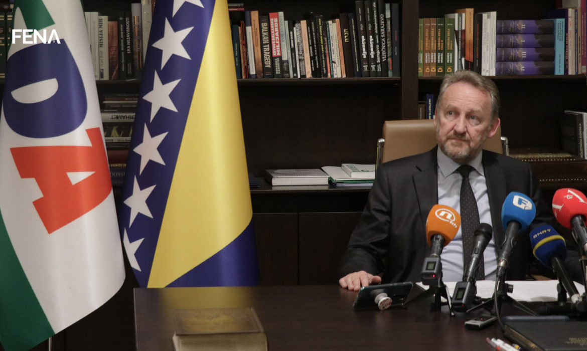 SDA: We reject Dodik's ultimatum and urge the international community not to give in