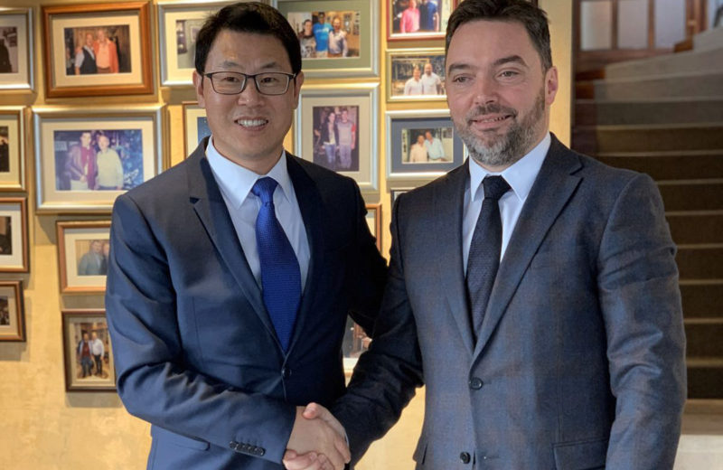 Košarac holds a meeting with representatives of Embassy of China in BiH