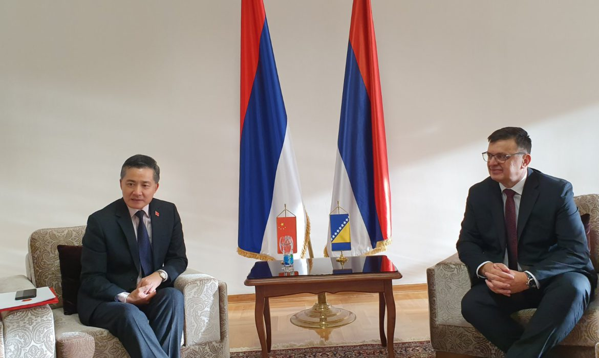 Tegeltija-Ji Ping: Cooperation between BiH and China on a number of projects