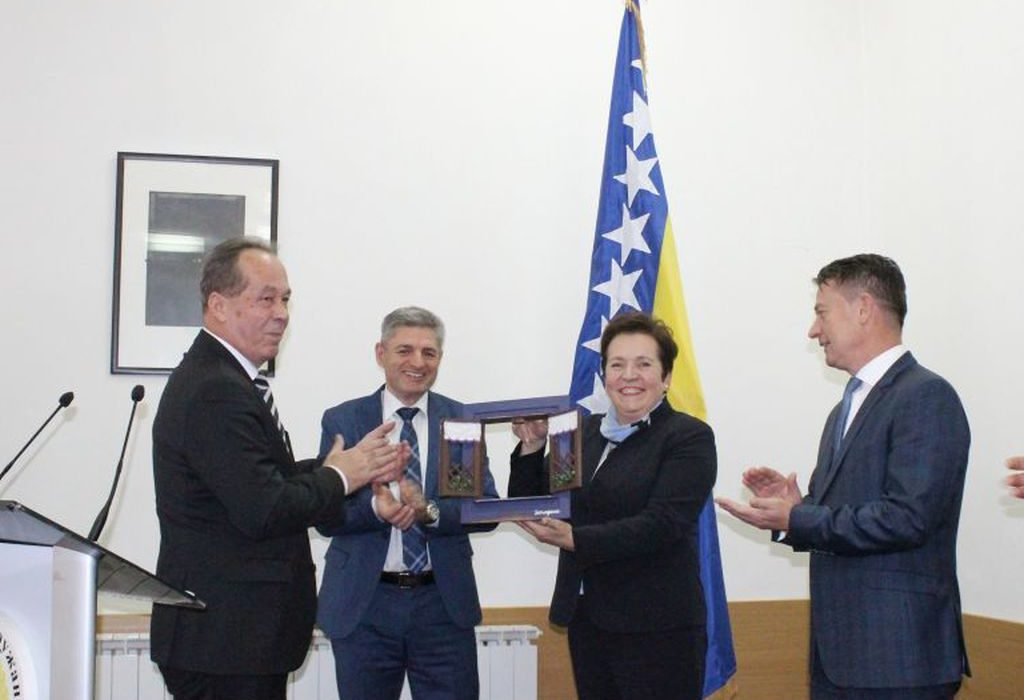 New BiH Defense Minister Podžić takes over duty with deputies Krešić and Okolić
