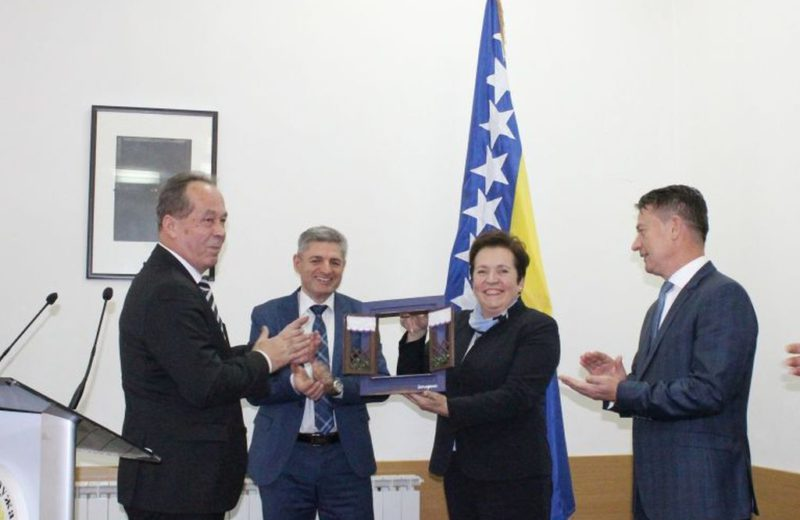 New BiH Defense Minister Podžić takes over duty with deputies Krešić and Okolić