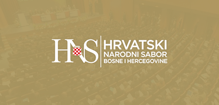 HNS: Attack on the constituent status of the Croats is an attack on our homeland