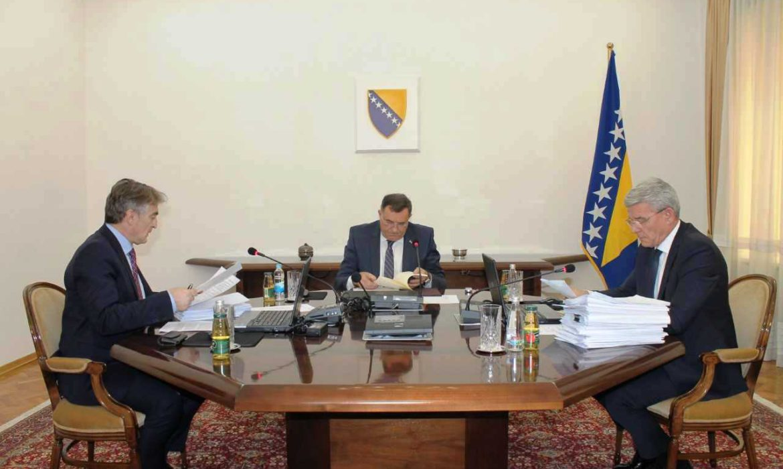 Dodik takes over the chairmanship of the Presidency of BiH