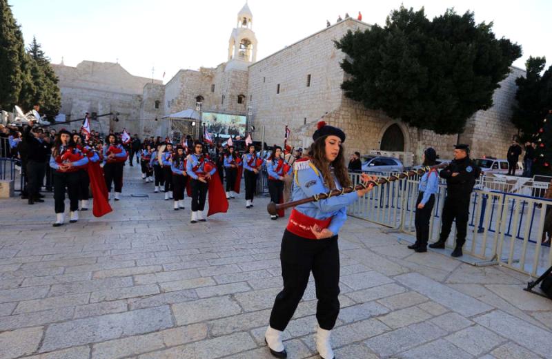 Orthodox Christmas in Bethlehem