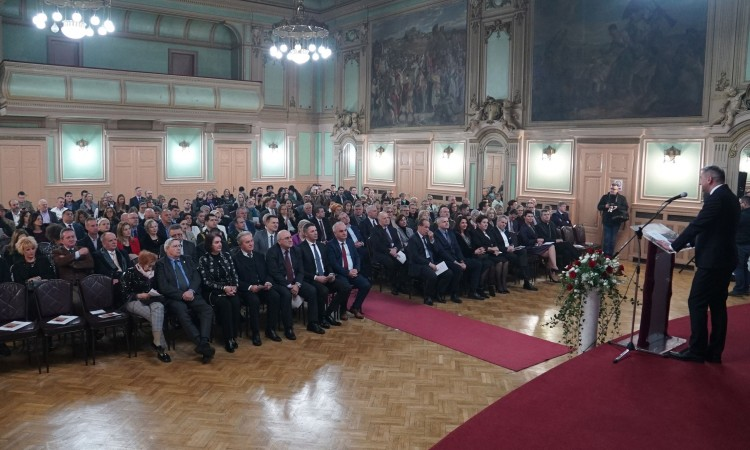 Croatian embassy hosts a concert in Sarajevo to mark the start of EU presidency