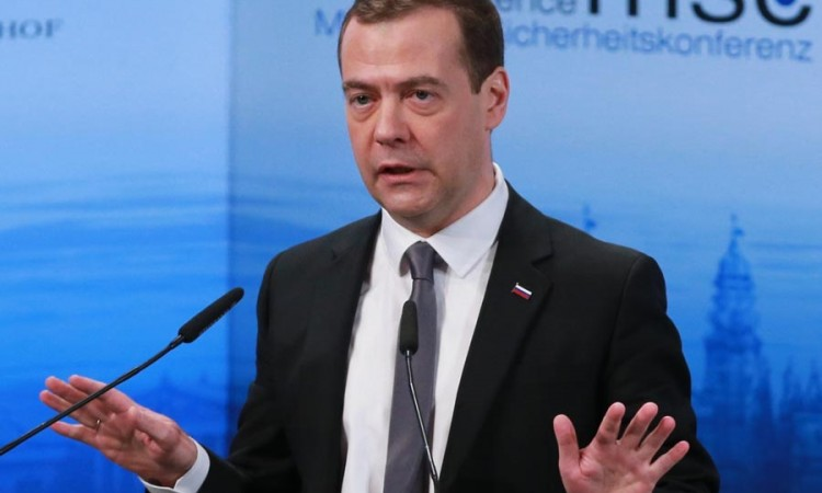 Russian Prime Minister Medvedev submits resignation to President Putin