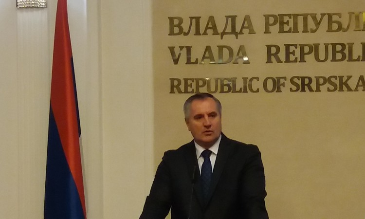 Višković: RS cannot pay police officers assisting BiH Border Police on its own
