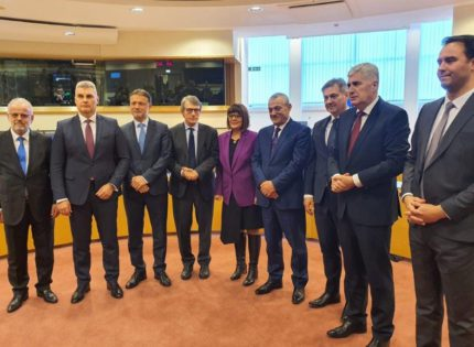 Čović and Zvizdić in Brussels – BiH European path is important part of EU future