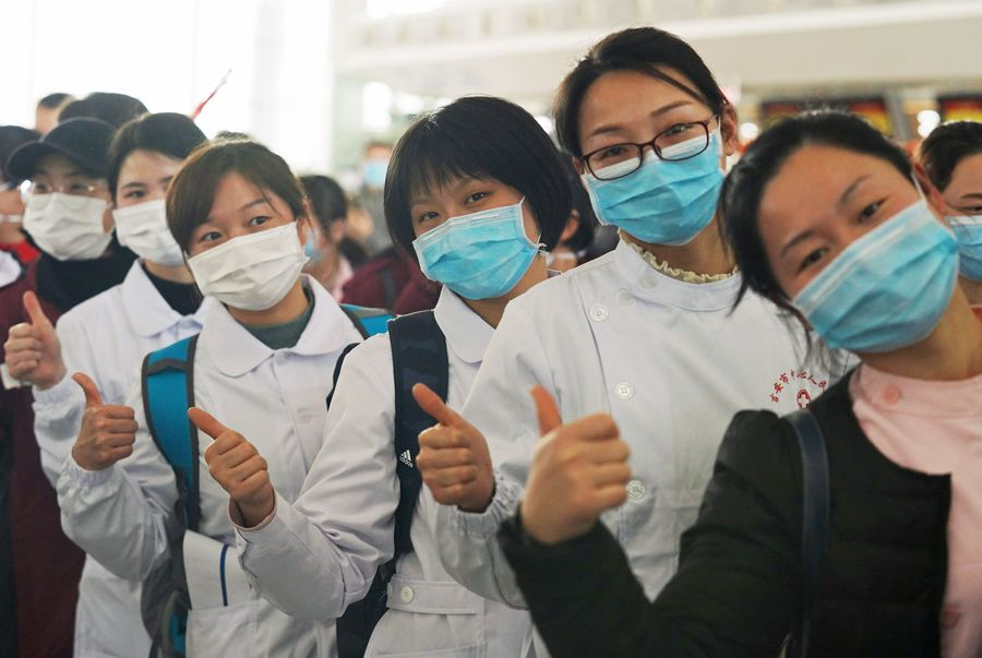 More Chinese medical teams sent to aid epidemic control in Hubei