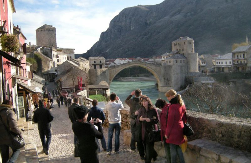 Since 2009, the number of tourists in BiH increased by more than one million