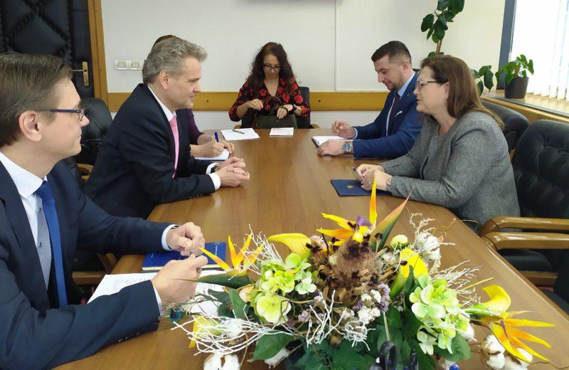 Gudeljević and Sattler discuss necessary reforms in EU integration process