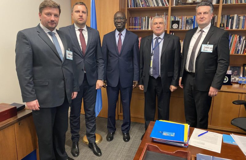 Delegation of City of Sarajevo visits United Nations Headquarters in New York