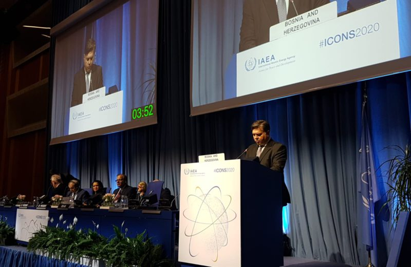 Deputy Foreign Minister Brkić attends Nuclear Security Conference in Vienna