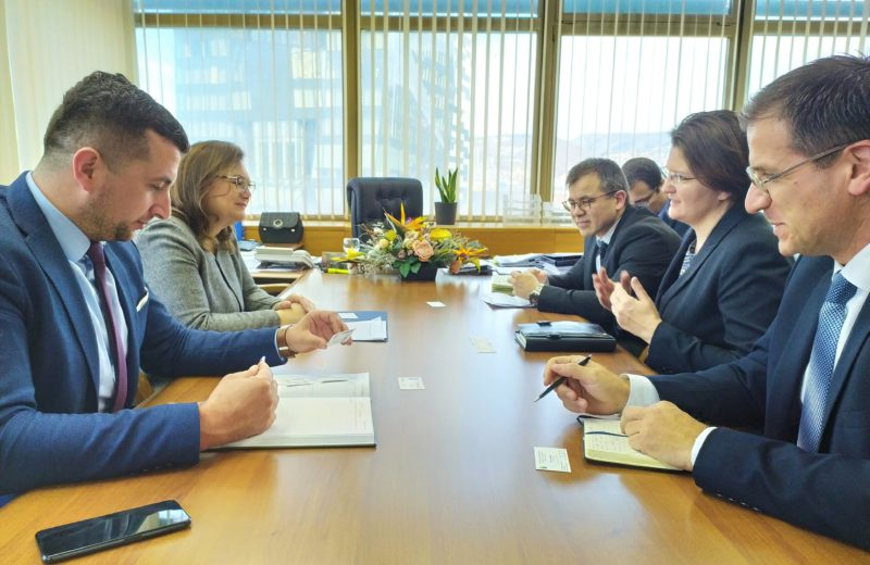 High-level cooperation between BiH Ministry of Civil Affairs and UNDP