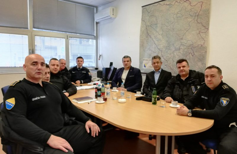BiH Border Police forms a team for enhanced control of illegal migration
