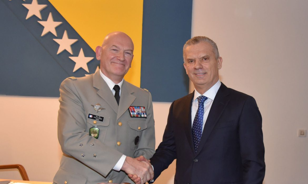 Radončić and Rittimann discuss migrant crisis and return of foreign fighters