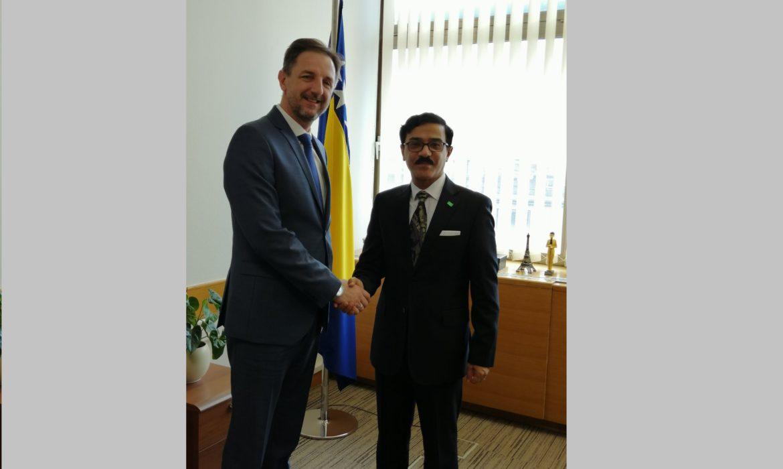 Mahmutović and Mominah discuss cooperation between BiH and Saudi Arabia