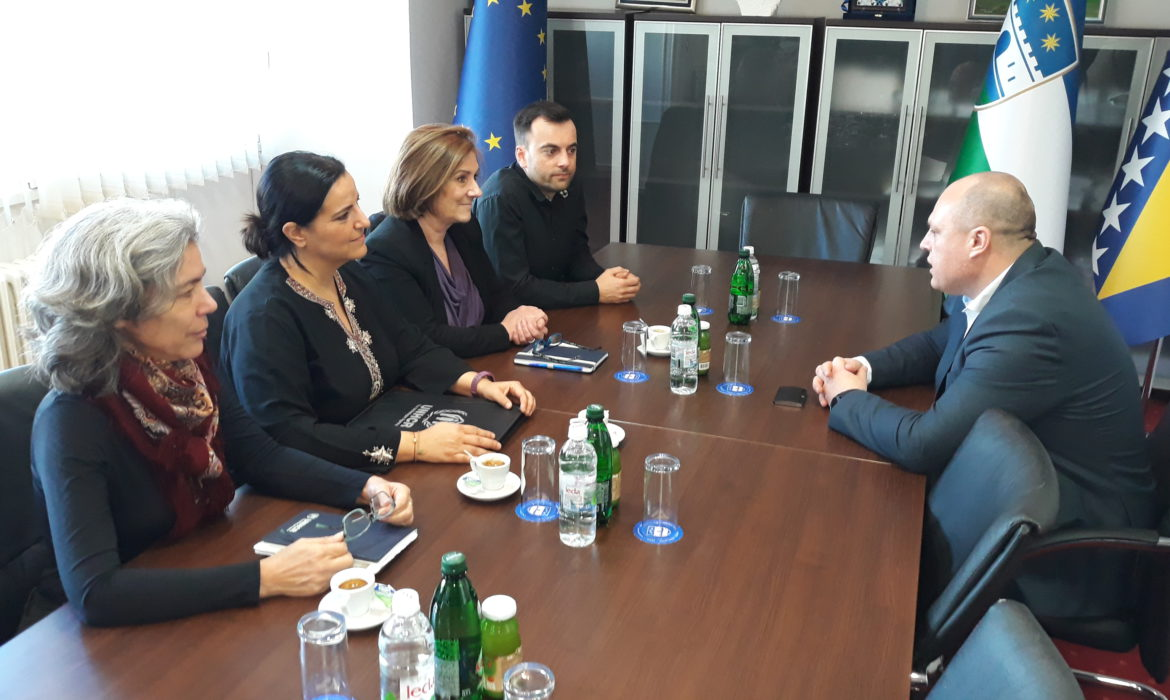 Delegation of UNHCR in BiH visits Una-Sana Canton