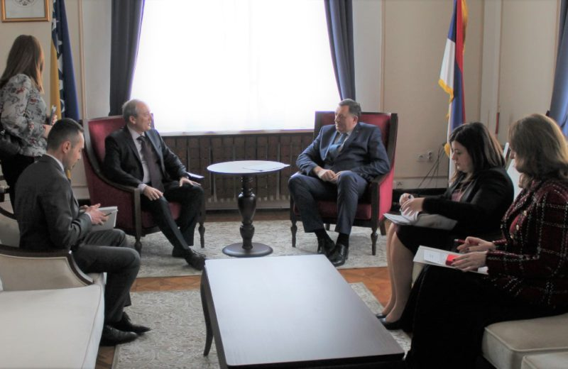 Dodik and Papandreou discuss special session of RS National Assembly