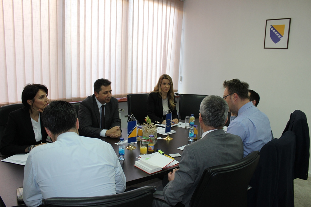 Speaker Zaimović meets with MarketMakers project management