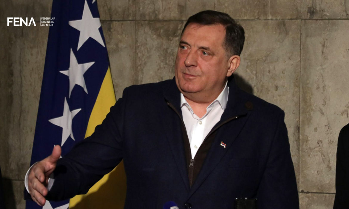 Dodik against imposing a law on banning genocide denial