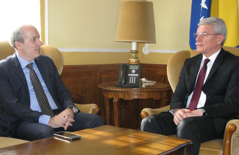 Džaferović received Greek Ambassador Papandreou in his inaugural visit