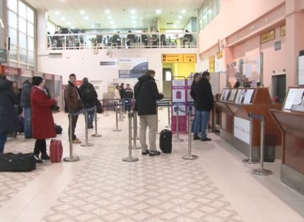 Flights to Vienna, Vaxjo and Stockholm from Tuzla Airport as of end of March