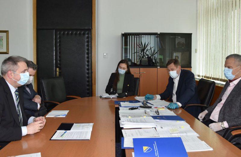 Mitrović, Radončić and Sabolić discuss ways to accelerate transport of goods