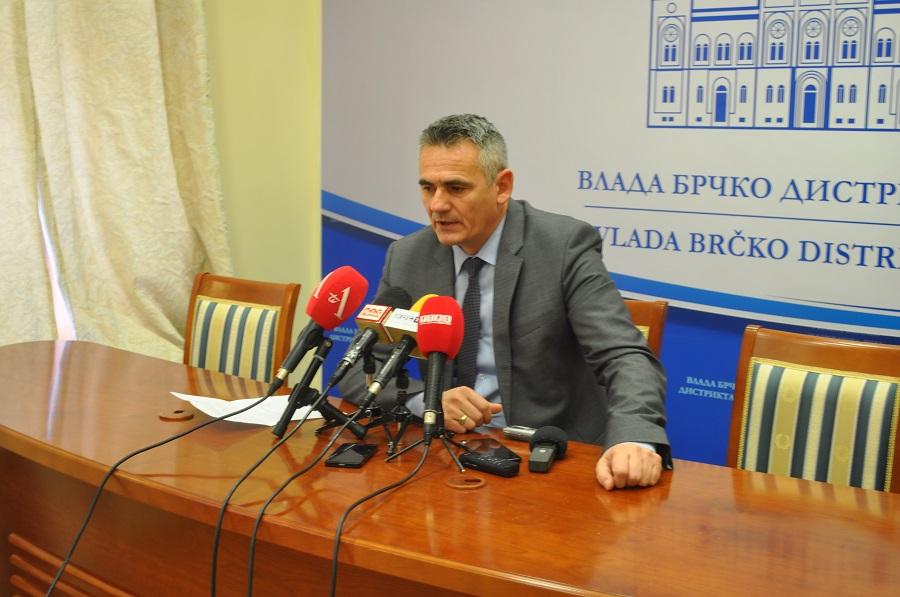 Milić: Brčko District will very soon obtain a Covid-19 testing apparatus
