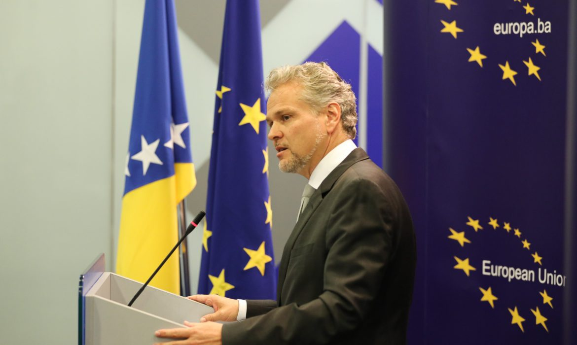 Sattler: The EU is ready to help BiH now, as it did during the floods of 2014
