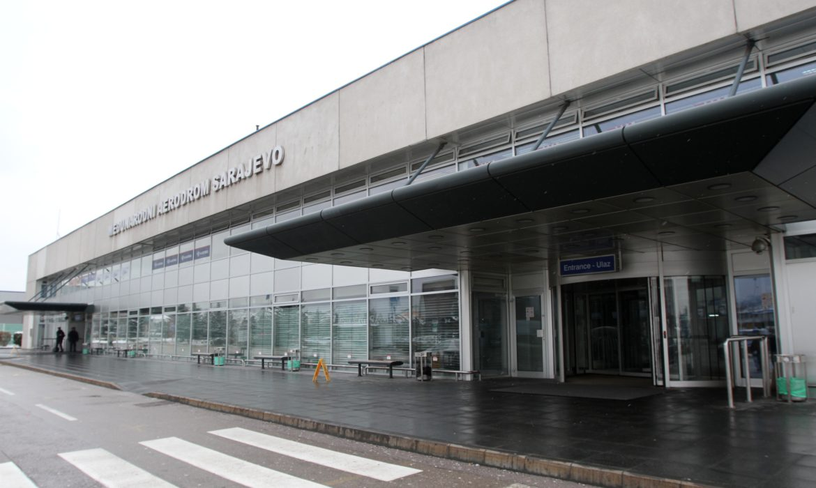 Sarajevo Airport has been temporarily closed for passenger traffic this morning