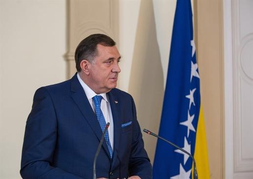 Dodik admitted to Banja Luka hospital with diagnosis of bilateral pneumonia