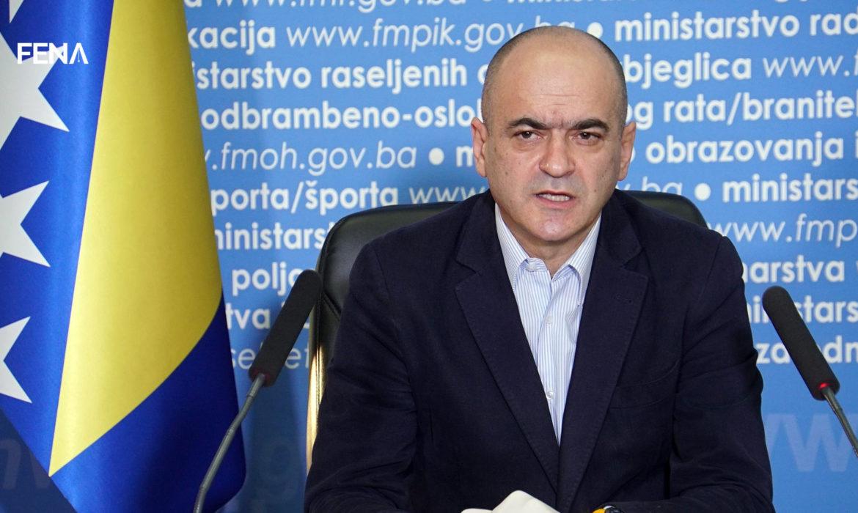 Čerkez: New 27 cases of coronavirus infection in FBiH, one person dies