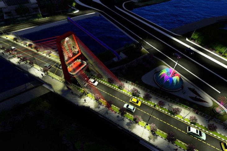 Joyoboyo Bridge to become Surabaya's new icon
