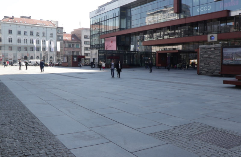As of today, a ban on movement for the next 15 days in Sarajevo Canton
